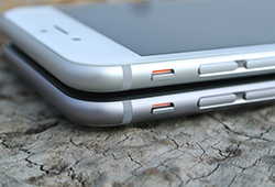 iPhone6とiPhone6sの大きさ比較