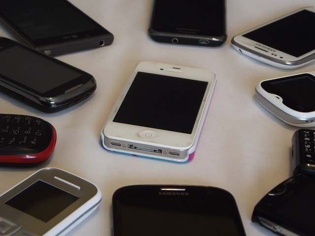 2つの携帯