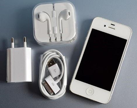 iphoneと小物