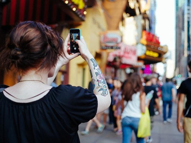 街を撮る人