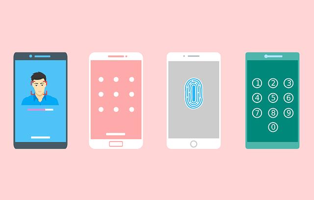 携帯4種類