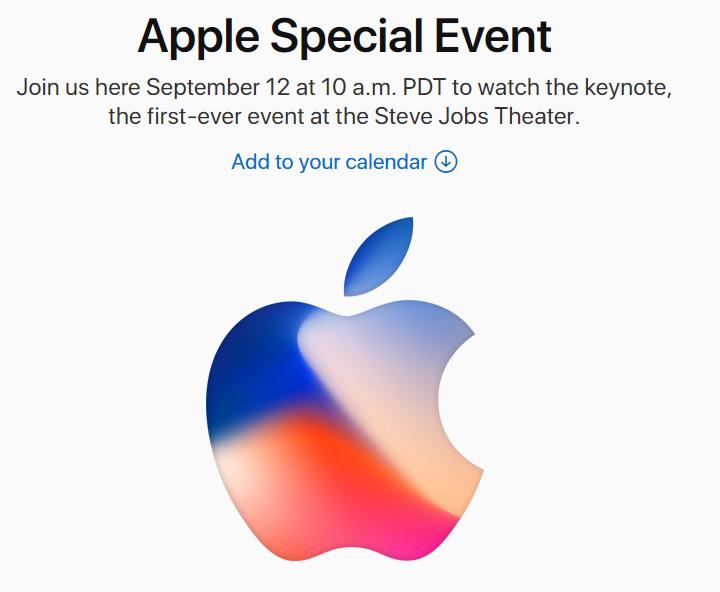 appleの招待状